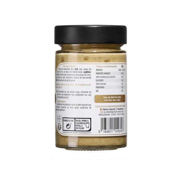 MARiUS Sauce Aux Cèpes