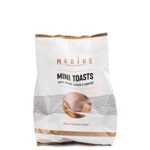 Mini toast MARiUS pour soupe, salade et apértif