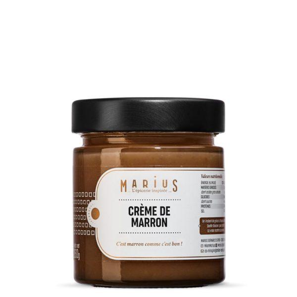 MARiUS creme marrons