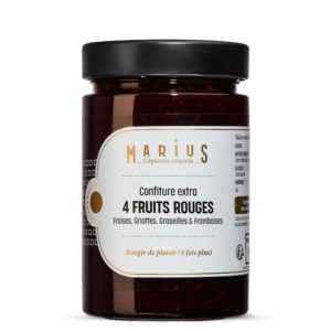MARiUS CONFITURE 4 FRUITS ROUGES