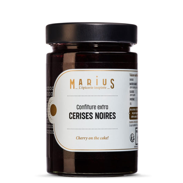 MARiUS CONFITURE CERISES NOIRES