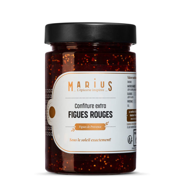MARiUS CONFITURE FIGUE ROUGE