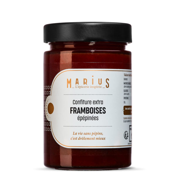 MARiUS CONFITURE FRAMBOISES EPEPINEE