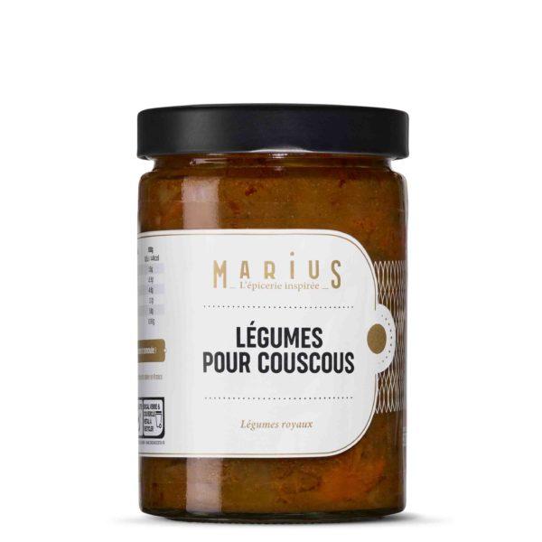 MARiUS LÉGUMES COUSCOUS