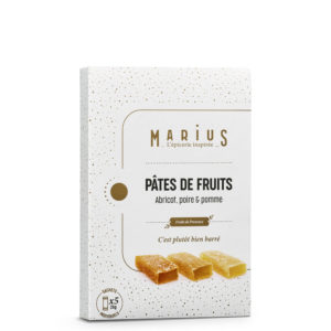 MARiUS PATES FRUITS ABRICOT POMME POIRE
