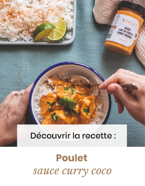 MARiUS poulet curry-coco