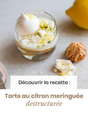 MARiUS tarte citron destructurée