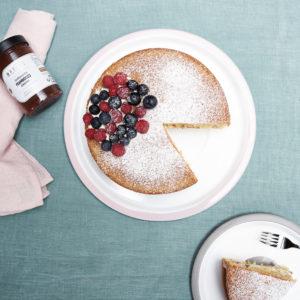 Victoria Sponge Cake à la framboise