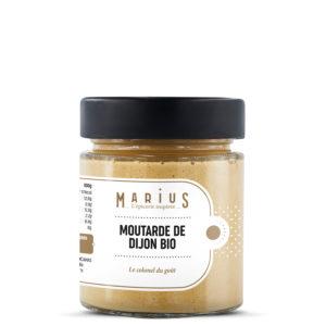 Moutarde de Dijon Bio MARiUS