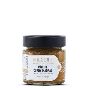 Pâte de curry Madras MARiUS