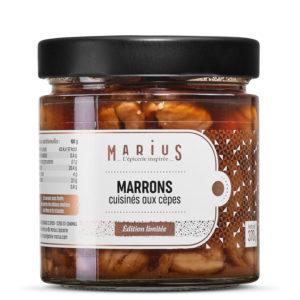 MARRONS AU CEPES MARIUS